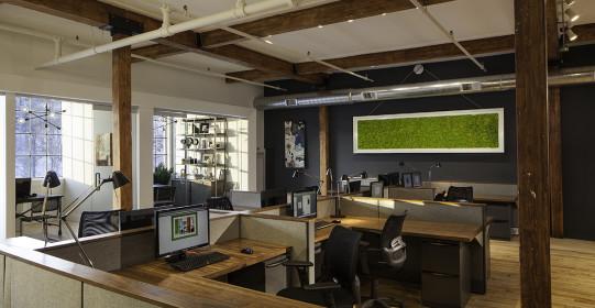 2/18/2014 Hoboken, NJ.  Robert Jenny Design and Construction's new office spaces.