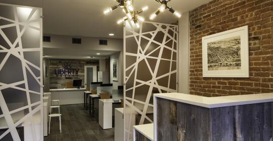 4/28/15 Hoboken, NJ.  Commercial interiors for Robert Jenny Design.